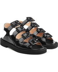 Carven | Leather Sandals | Lyst