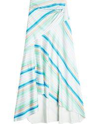 Peter Pilotto - Striped Maxi Skirt - Lyst