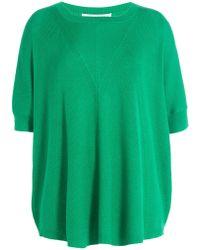 Diane von Furstenberg - Merino Wool Pullover With Silk - Lyst