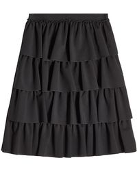Simone Rocha - Tiered Skirt - Lyst