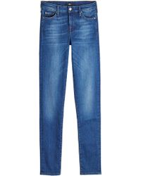 7 For All Mankind - Pyper Skinny Jeans - Lyst