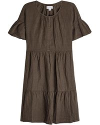 Velvet - Noor Linen Dress - Lyst