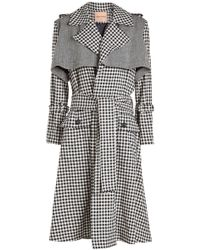 Maggie Marilyn - Be Strong And Courageous Wool Trench Coat - Lyst