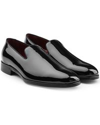 Dolce & Gabbana   Patent Leather Loafers   Lyst