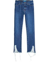 M.i.h Jeans - Cult Distressed Jeans - Lyst