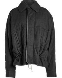 Haider Ackermann - Fleece Wool Jacket - Lyst