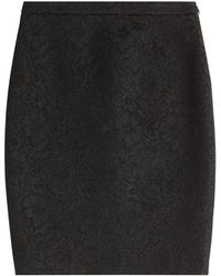 Boutique Moschino - Embroidered Skirt - Lyst