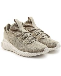adidas Originals - Tubular Doom Sock Sneakers With Suede - Lyst