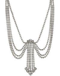 Marc Jacobs - Statement-Halskette Crystal - Lyst