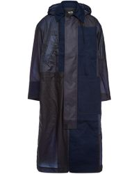 Y-3 - Patchwork Raincoat With Cotton - Lyst