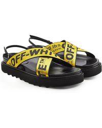 Off-White c/o Virgil Abloh - Industrial Belt Sandals - Lyst