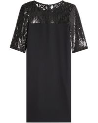 Boutique Moschino - Dress With Sequins - Lyst