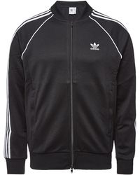 ffa0283f2e93 adidas Originals - Sst Track Jacket With Cotton - Lyst