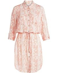 Heidi Klein - Printed Shirt Dress - Lyst