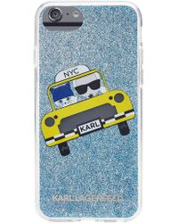 Karl Lagerfeld - Nyc Taxi Iphone 7 Case - Lyst