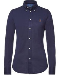 Polo Ralph Lauren - Heidi Cotton Shirt - Lyst