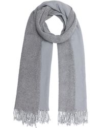 Donni Charm - Poodle Scarf In Grey - Lyst