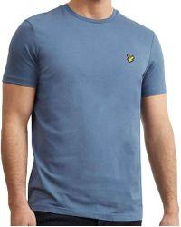 e6bd9edc2 Lyle & Scott Lyle And Scott Mid Grey Marl Short Sleeve T-shirt in ...