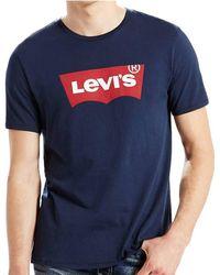 Levi's - T-shirt Housemark Graphic T-shirt - Lyst