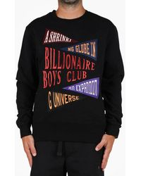 20ecb2f8b BBCICECREAM - Billionaire Boys Club Pennant Applique Crewneck - Lyst