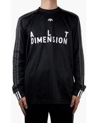 adidas Originals - Adidas Originals By Alexander Wang Soccer Long Sleeve - Lyst
