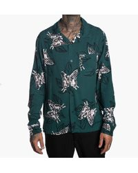Stussy - Butterfly Long Sleeve Shirt - Lyst