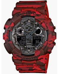 G-Shock - G-shock Ga-100cm-4aer - Lyst