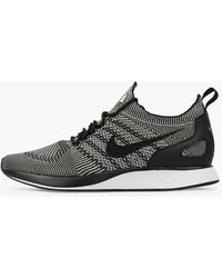 7f027f4ec414c Nike Air Zoom Mariah Flyknit Racer Trainers in Black for Men - Lyst