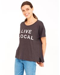 Sundry | Live Local Loose Tee | Lyst
