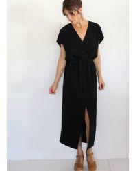 Cienne NY - Hudson Dress Black - Lyst