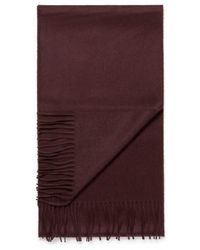 Sunspel - Woven Cashmere Scarf In Mosto Brown - Lyst