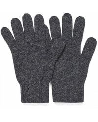 Sunspel - Cashmere Gloves In Charcoal Marl - Lyst