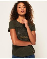 Superdry - Sydney Ladder Lace T-shirt - Lyst