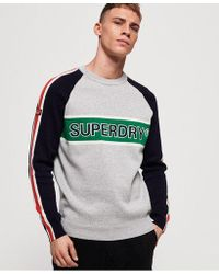 Superdry - Sport Track Crew Neck Jumper - Lyst