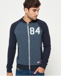 Superdry - Trackster Baseball Jacket - Lyst