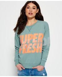Superdry - Freshness Crew Neck Jumper - Lyst