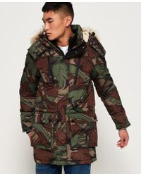 Superdry - Sd Expedition Parka Jacket - Lyst