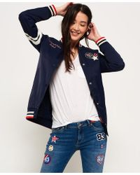 Superdry - Pacific Patch Bomber Jacket - Lyst