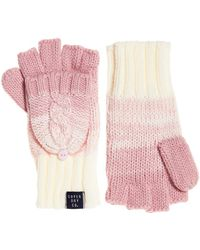 Superdry - Clarrie Cable Mittens - Lyst