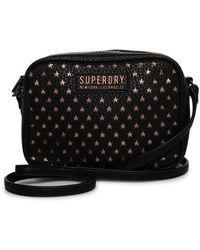 10fe14d97 Superdry Disco Bum Bag in Black - Lyst