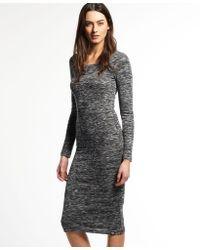 a3e34ae025 Club L Essentials Tube Maxi Dress In Slinky in Black - Lyst