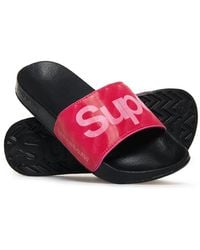 Superdry Holographic Sliders