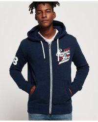 Superdry - Trademark Japan Zip Hoodie - Lyst
