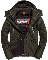 399b3473f6f18 Superdry Hooded Polar Wind Attacker Colorblock Camo Jacket for Men ...