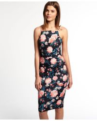 Superdry - Sultry Scuba Pencil Dress - Lyst