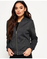 Superdry | Orange Label Micro Jersey Luxe Bomber | Lyst