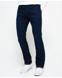 Superdry - Officer Straight Jeans - Lyst
