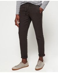 82a90b3d3f Superdry - International Linen Beach Trousers - Lyst