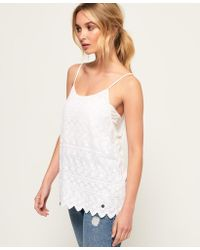 Superdry - Shell Lace Top - Lyst