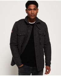 Superdry - Tito Four Pocket Wool Jacket - Lyst